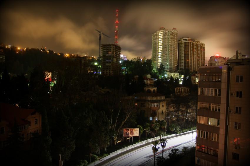 17.03.2013 Сочи без энергоснабжения